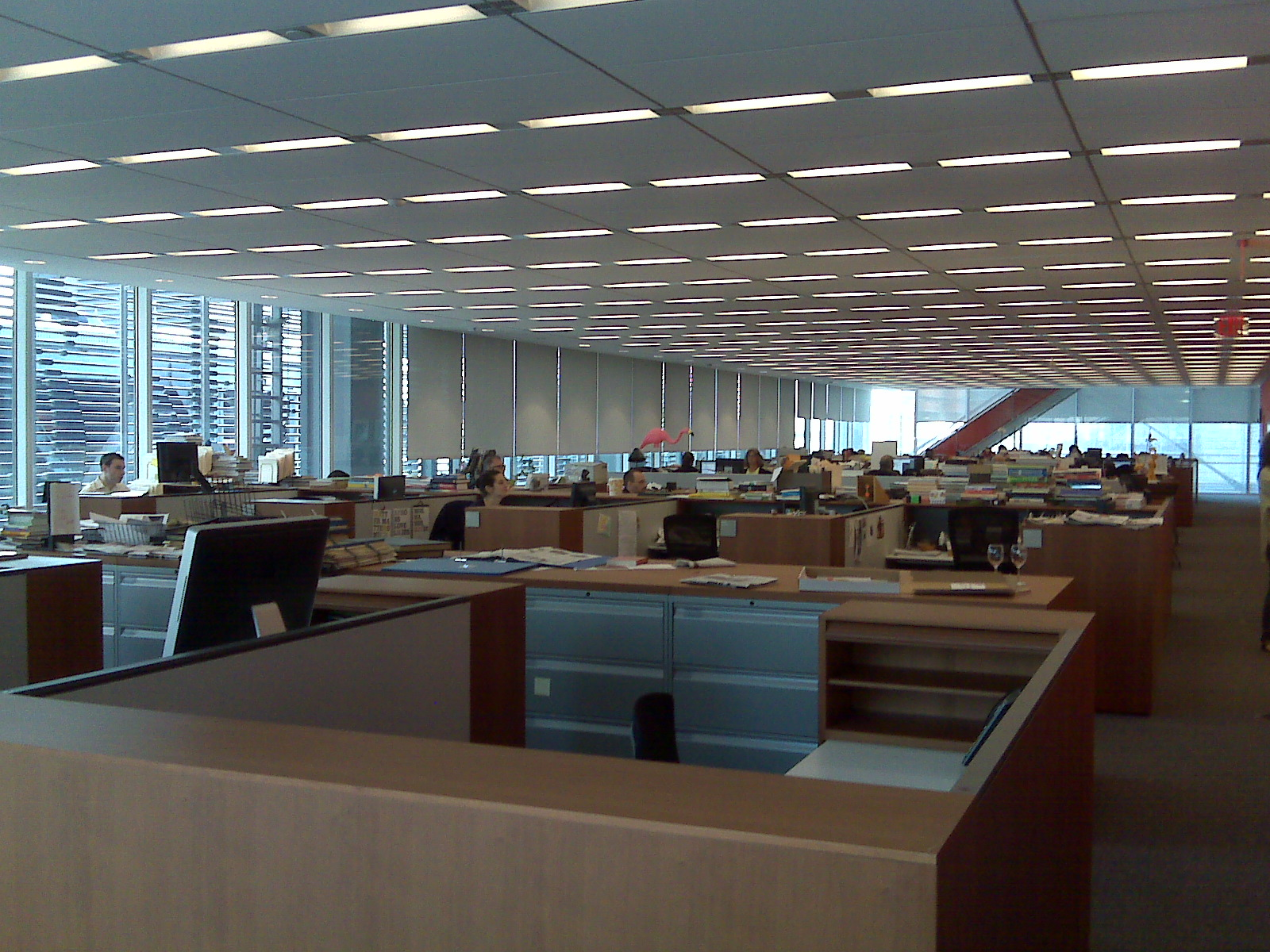 A visit inside The New York Times building
